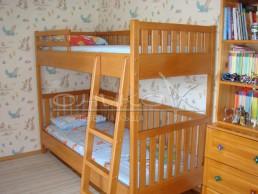 Двуетажно легло - масив Бук