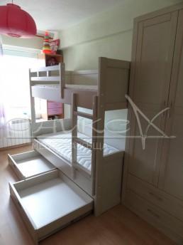 Обзавеждане за детска стая - модел Стандарт, масив Бук