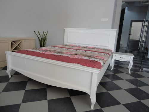 """Спалня масив бук модел """"Модена без тапицерия"""""""