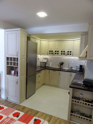 "Кухня масив бук, модел ""Класик-Оникс"""