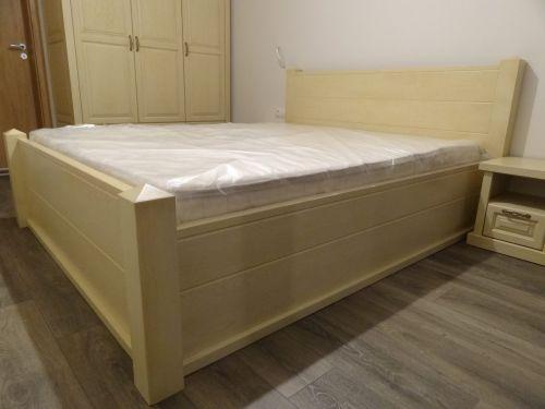 """Спалня масив ясен модел """"Мадрид"""""""
