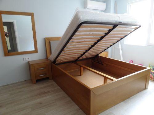 "Спалня масив ясен модел ""Престиж с ракла"""
