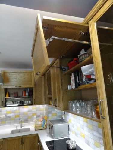 "Кухня масив ясен, модел ""Модена"""