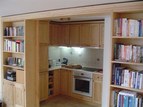 "Кухня масив ясен, модел ""Класик"""