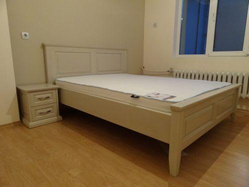 "Спалня масив бук модел ""Класик с права табла"""