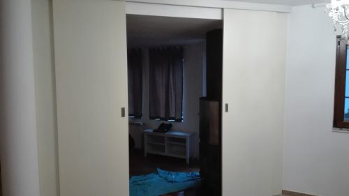 Плъзгащи врати МДФ бук