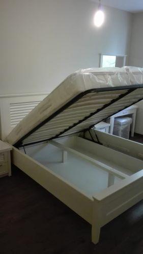 """Спалня масив бук модел """"Щора"""" с ракла"""