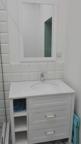 Шкаф за мивка масив бук