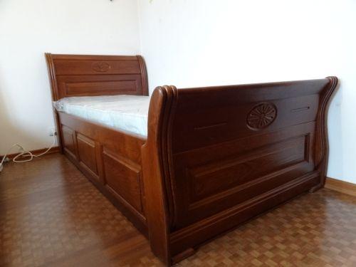 """Легло модел """"Венера"""" с ракла дъб"""