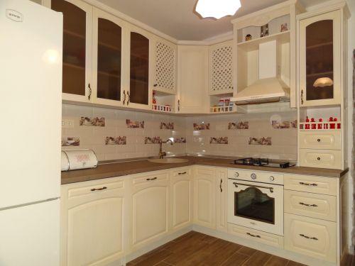 "Кухня масив ясен, модел ""Класик с арка"""