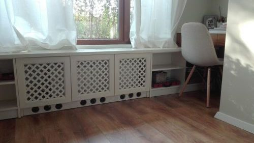 Радиаторни решетки и бюро