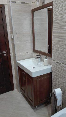 Шкаф за мивка и огледало